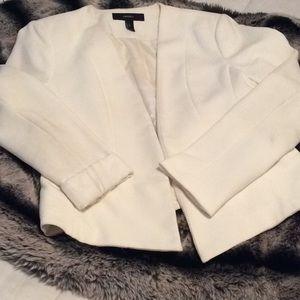 F21 White Blazer